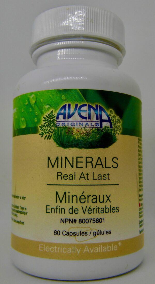 Minerals supplements 60 capsules