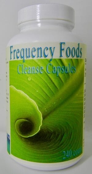 FREQUENCY FOODS CLEANSE – 240ct. capsules