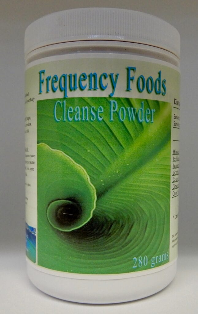 FREQUENCY FOODS CLEANSE – 280g powder